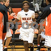 Sam Buckner for Shaw Media.<br /> Michael Albert high fives his team mates as he gets announced in the starting lineup on Wednesday December 28, 2016.