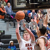 Sam Buckner for Shaw Media.<br /> Michael Vilet takes a shot on Thursday December 28, 2017 against Mundelein.
