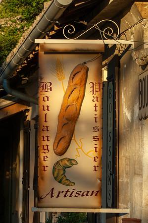 Europe, France, Provence, Les Baux-de-Provence, local bakery