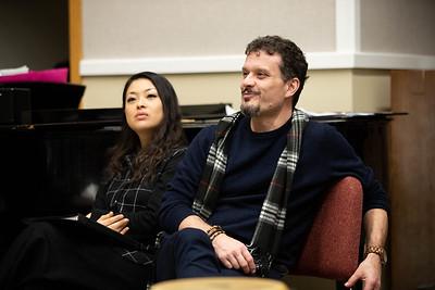 Sergio Pallottelli and Eri Nakamura