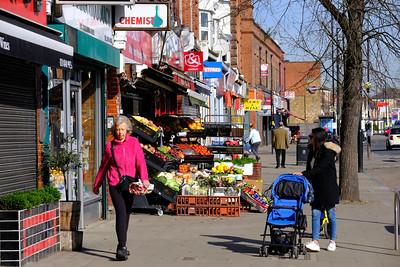 Shops, South Ealing Road, W5, London, United Kingdom