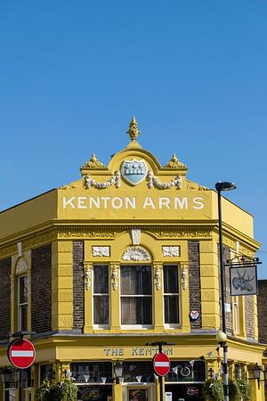 Kenton Arms, pub, Hackney, London, United Kingdom