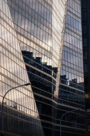 Modern office blocks, Victoria Street, London, United Kingdom