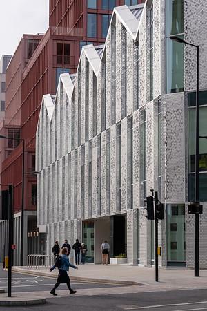 Modern development,Kings Cross, London, United Kingdom