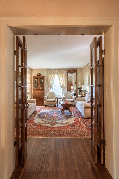 Formal Living Room Entrance off Front Hall