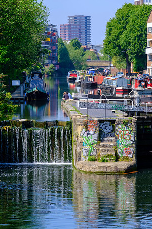Regents Canal, Hackney, London, United Kingdom