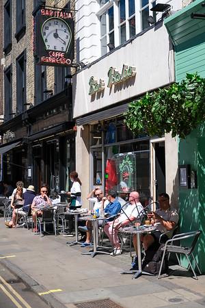 Bar Italia, Frith Street, London,United Kingdom