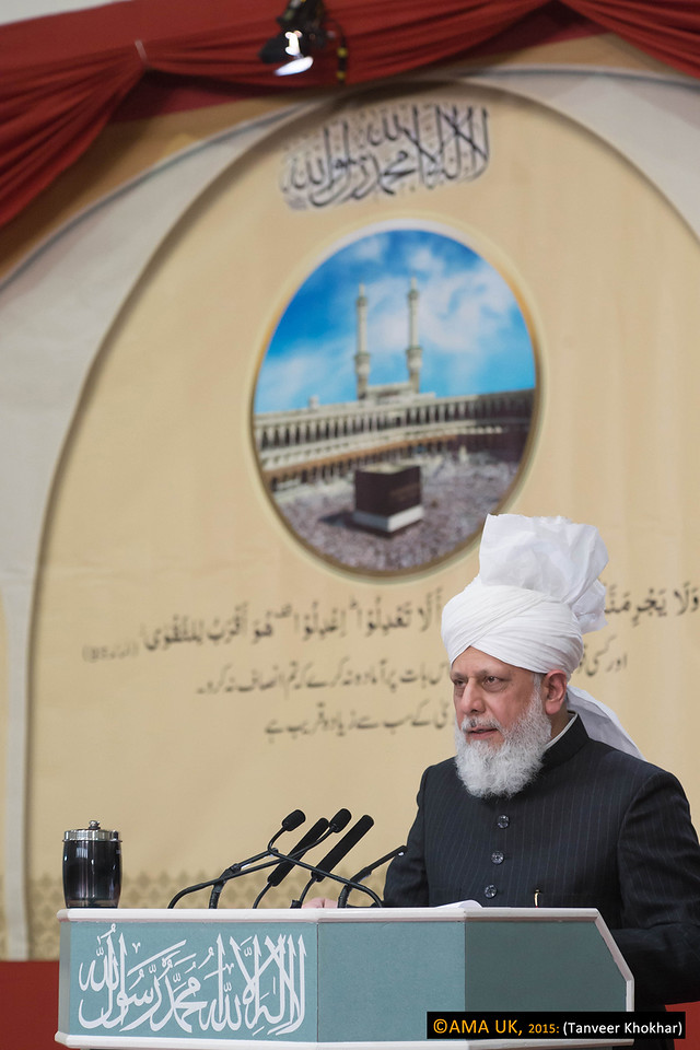 His Holiness said that whilst in early Islam it was the Arab people who had first spread the teachings of Islam with great wisdom, regrettably they had now forgotten the true teachings of the Holy Qur'an and the Holy Prophet of Islam (peace be upon him) when it came to Ahmadiyyat.