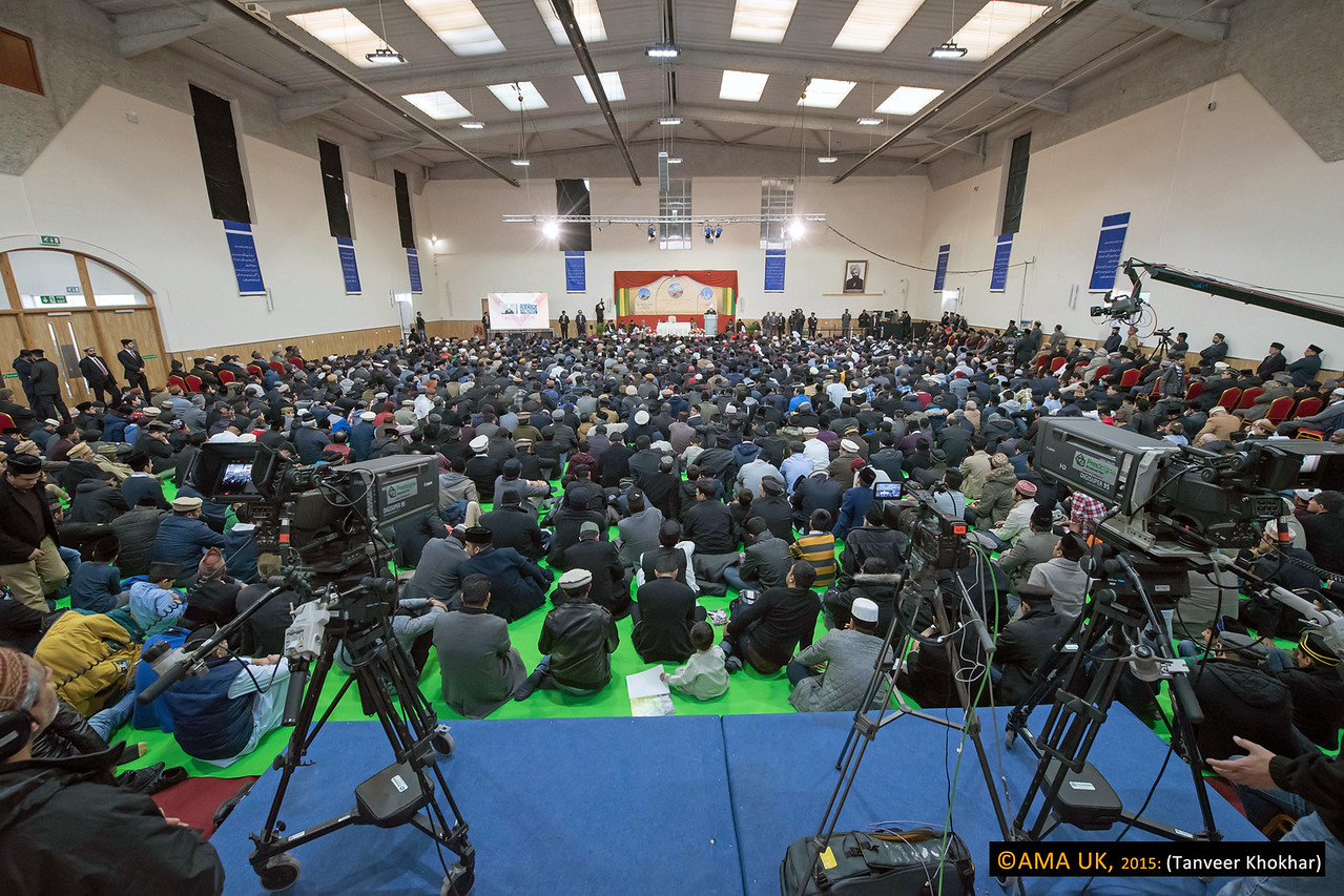 The Khalifa said that despite the limited resources of the Ahmadiyya Muslim Community, MTA had become a means to further develop the unique bond between the institution of Khilafat (Caliphate) and Ahmadi Muslims around the world.