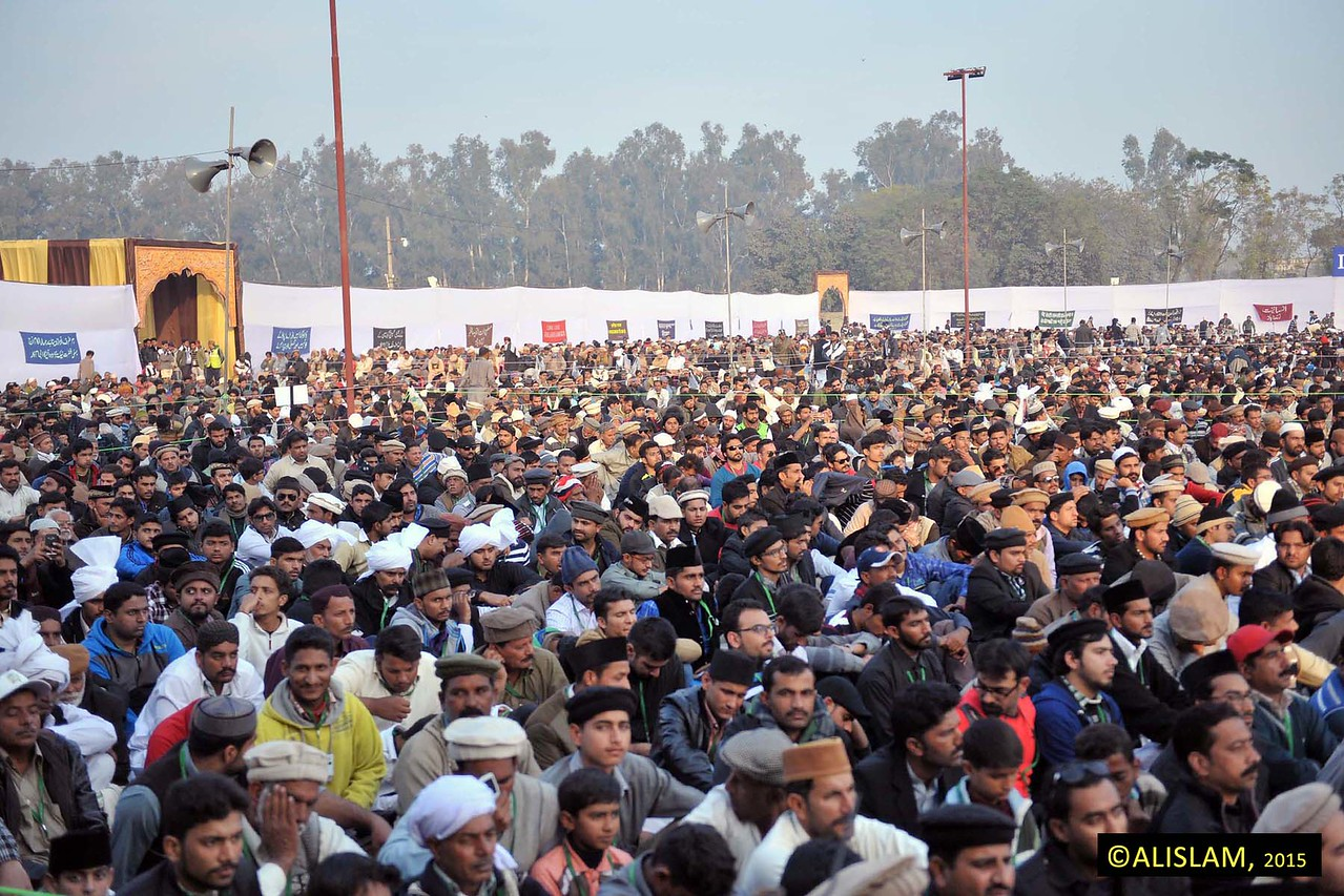 """Certainly, every single person sitting in Qadian is a sign of the truth of the Promised Messiah (peace be upon him)."""