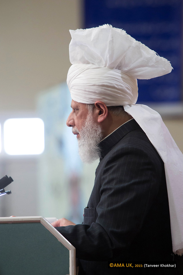 During his address, His Holiness spoke of how the Ahmadiyya Muslim Community had always been supported by God Almighty and so despite the sustained persecution it faced in certain parts of the world it had continued to grow and flourish.