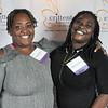 Diamond Bonner, Crittenton alumna, and Andrea Richburg, Crittenton alumna.