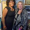 Nicki Sanders, Crittenton Director of Programs, with Pamela Jones, Crittenton President and CEO.