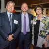 Jim Kohlenberger with Bryan Tramont, Crittenton Sponsor, 129th Anniversary Celebration Co-chair, Managing Partner, Wilkinson Barker Knauer LLP, and Cindy Pierce.