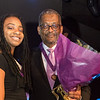 Hownisha Reed, Crittenton alumna, with David K. Owens,  Crittenton Leadership Award Honoree, Crittenton Sponsor, Executive Vice President, Business Operations & Regulatory Affairs (Ret.), Edison Electrical Institute.
