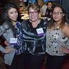 Josselin Panameno, Crittenton alumna, Deb Lopez, Senior Program Specialist, and Jennifer Castillo, Crittenton alumna.