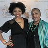 Charlesa Scott, Crittenton Youth Development Program Coordinator, and Gloria Blackwell, Vice President of Fellowships, Grants, and Global Programs, The American Association of University Women.