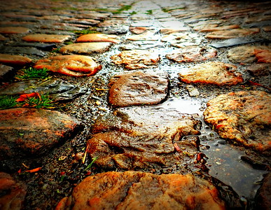 The Cobbles of St. Margarethen