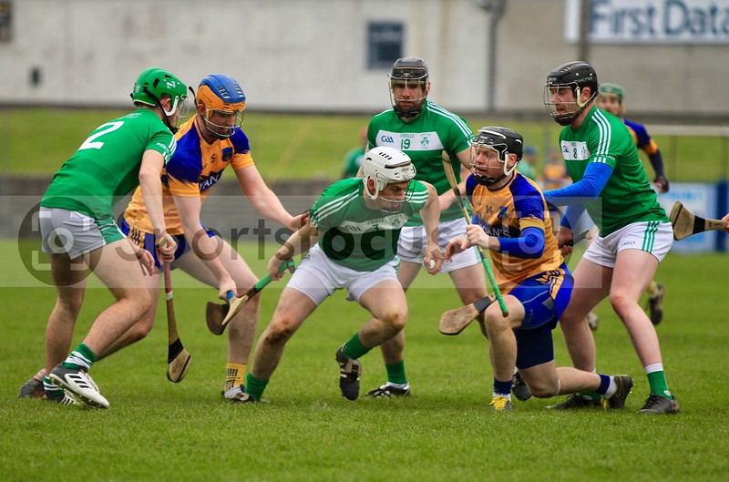 Cathal Dooley (3) Borrisokane emerges with the siothar