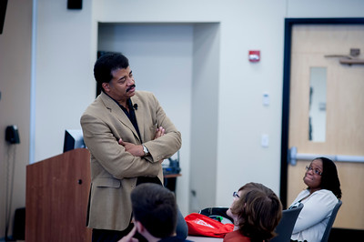 Dr. Neil deGrasse Tyson visit