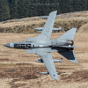 GR4 Tornado ZA591, 058 Bwlch exit