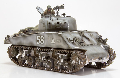 Tamiya M4A3 Sherman 105