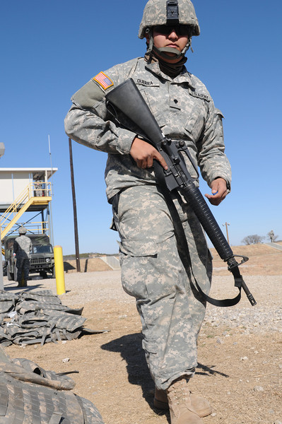 "In this image released by the Texas Military Forces, Soldiers from 236th Military Police Company earn weapons qualification during annual training at Fort Wolters, Texas, Friday, Jan. 28, 2011. The unit, headquartered in San Antonio, is in the Dallas/Fort Worth with Joint Task Force 71 in support of the Super Bowl mission. Annual training enables National Guard units like the 236th to maintain their soldiering skills, facilitating them to be ""Always Ready-Always There"". (Photo/Joint Task Force 71, Army National Guard Sgt. Melissa Shaw)"