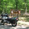 Natchez Trace Parkway sign.