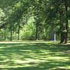 Natchez Trace marker park.