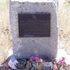 Wrong grave of Jean Baptiste Charbonneau.