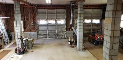 Attached 2-car garage