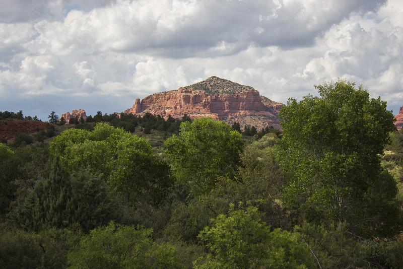 Mesa en route to Flagstaff, Arizona