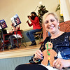 Rotary Club's Gingerbread House Competition and fundraiser event Chairperson and founder Tami Dristiliaris. SUN/ David H. Brow