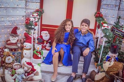 240. Carolina y Familia navidad 2017