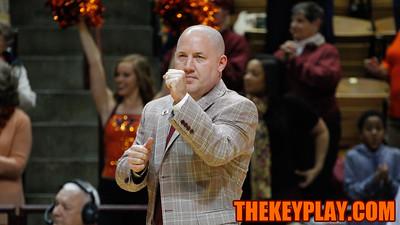 Head coach Buzz Williams. (Mark Umansky/TheKeyPlay.com)