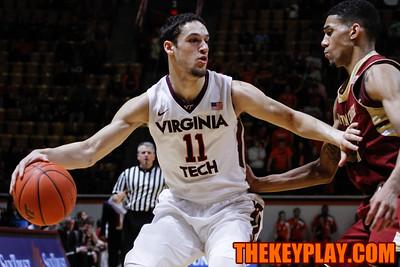 Devin Wilson tries to get around a BC defender. (Mark Umansky/TheKeyPlay.com
