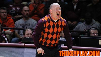 Head coach Buzz Williams calls out a defense in the second half. (Mark Umansky/TheKeyPlay.com)