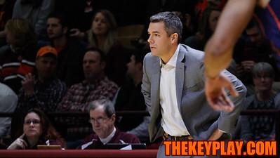 UVa Head Coach Tony Bennett looks on during the first half. (Mark Umansky/TheKeyPlay.com)