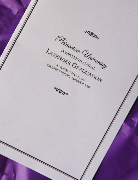 Lavender Graduation