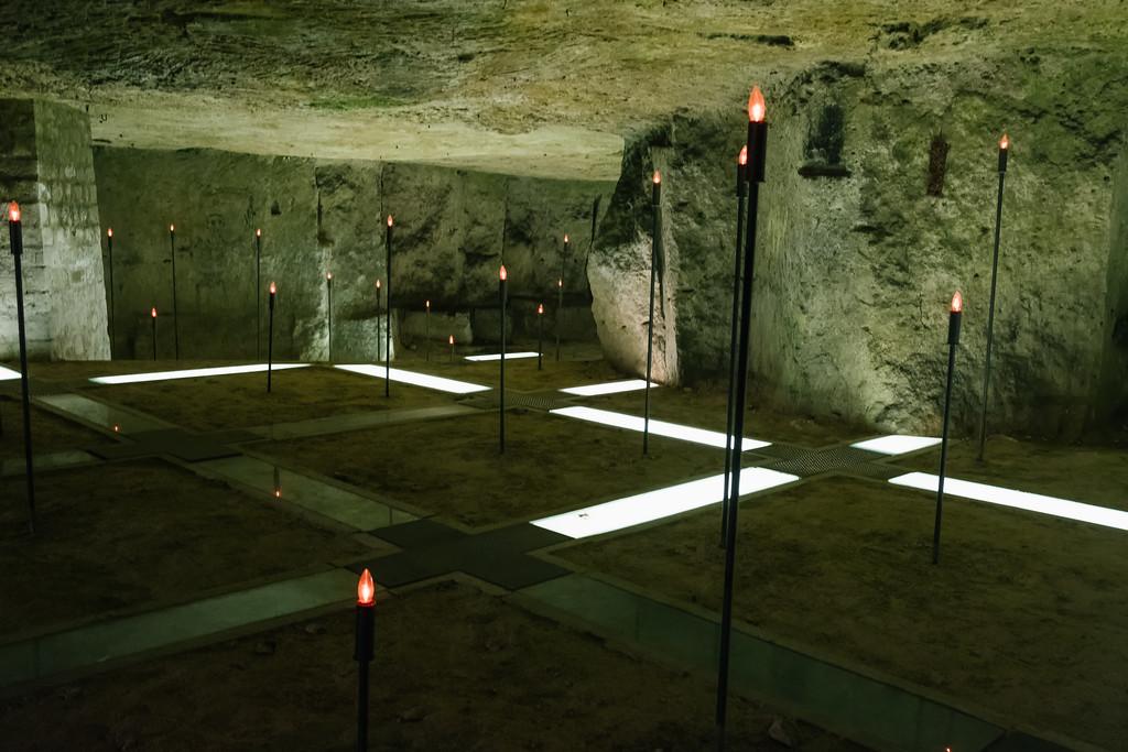 Caverne du Dragon, Chemin des Dames musée 14-18
