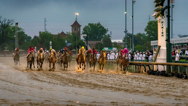 Maximum Security finishes first at the 145th KY Derby  4-2-19 - Churchill Downs - by Steven Bullock -2