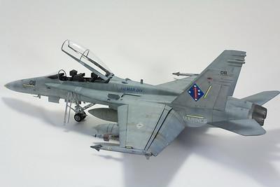 Hasegawa F/A-18D VMFA-225