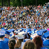 The 149th graduation exercise for Leominster High School was held on Saturday, June 1, 2019 at Doyle Field. The stands were filled at the ceremony. SENTINEL & ENTERPRISE/JOHN LOVE