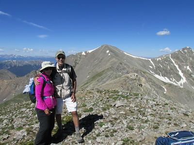 Argentine Pass - Grays Peak Aug '15
