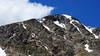 Afternoon clouds greet hikers on the Torreys Peak summit, Colorado Front Range.
