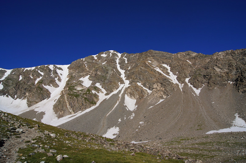 Morning light on the east face of Torreys Peak, Colorado Front Range.