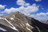 The south ridge and east face of Torreys Peak, Colorado Front Range.