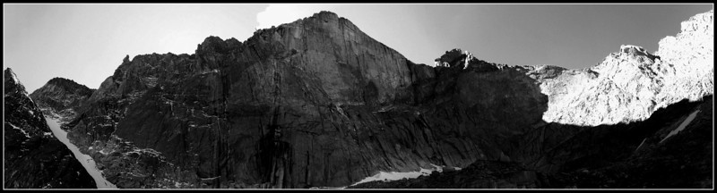 Longs Peak Diamond Face, Rocky Mountain National Park