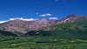 Mt. Bierstadt's colorful western approach, viewed from Guanella Pass, Colorado Front Range.