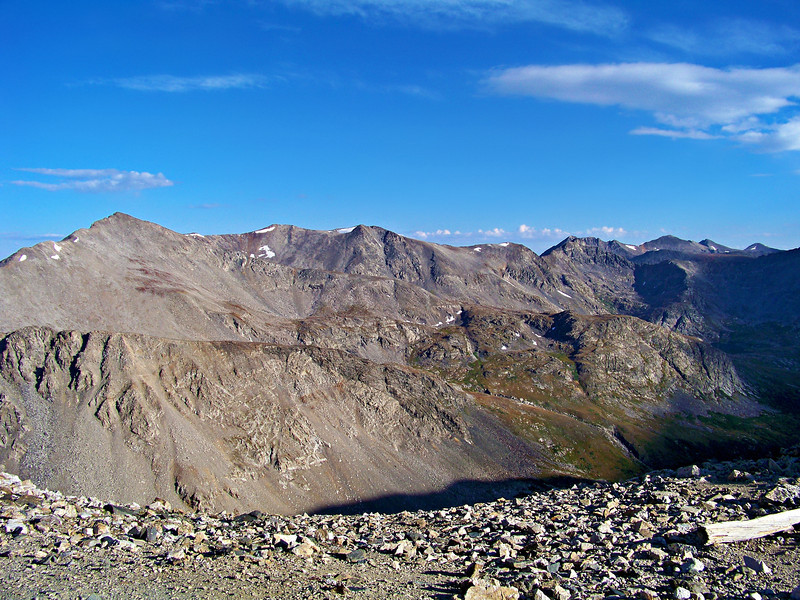 Mt. Buckskin to the southwest of Mt. Democrat, Colorado Mosquito Range